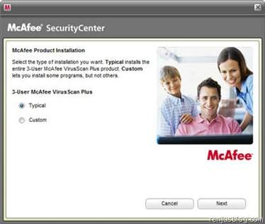 McAfee VirusScan Plus AOL Edition - Download